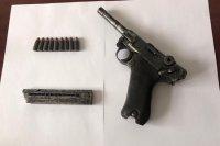 Bakı sakini Cəlilabadda silahla saxlanıldı