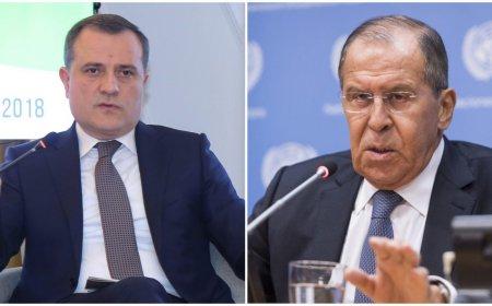 Ceyhun Bayramov və Sergey Lavrov arasında telefon danışığı olub